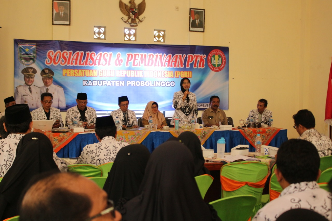 Photo of PGRI Gelar Sosialisasi dan Pembinaan PTK